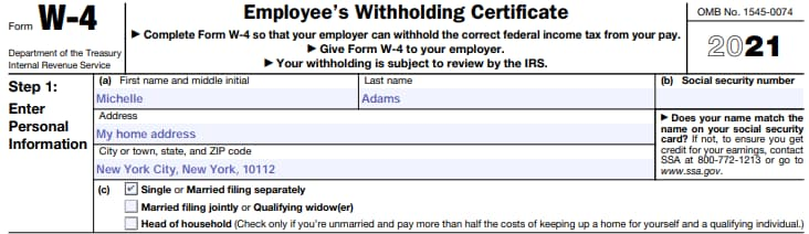 How to Fill Out a W4 in 2021: A step-by-step guide